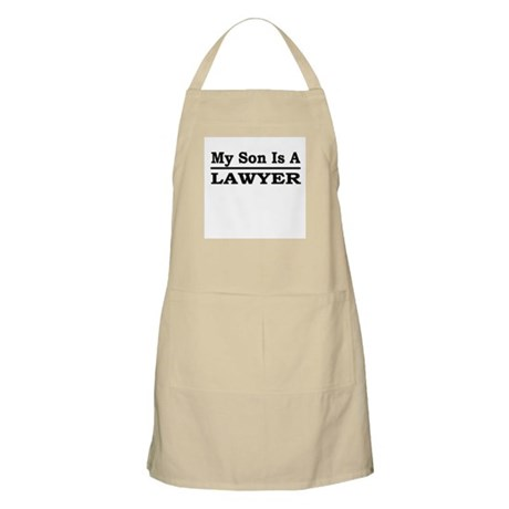 """""""My Son Is A Lawyer"""" BBQ Apron"""