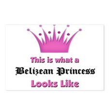 This is what an Belizean Princess Looks Like Postc