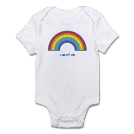 spunkie (rainbow) Infant Bodysuit