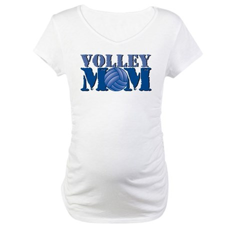 Volley Mom Maternity T-Shirt