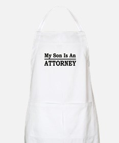 """""""My Son Is An Attorney"""" BBQ Apron"""