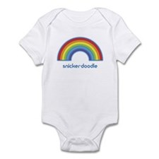 snicker-doodle (rainbow) Infant Bodysuit