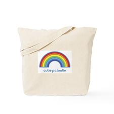 cutie-patootie (rainbow) Tote Bag