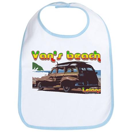 Van's Beach Surf Rasta Bib