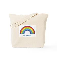 munchkin (rainbow) Tote Bag