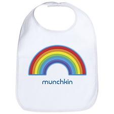 munchkin (rainbow) Bib
