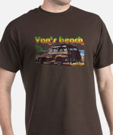 Van's Beach Surf Rasta T-Shirt