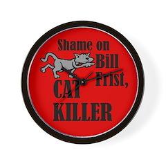 Bill Frist, Cat Killer Wall Clock