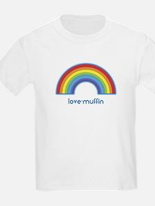 love-muffin (rainbow) T-Shirt