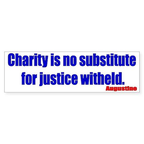 Saint Augustine Quote Bumper Sticker