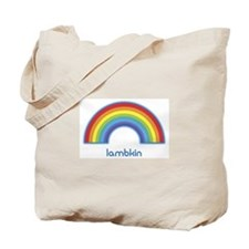 lambkin (rainbow) Tote Bag