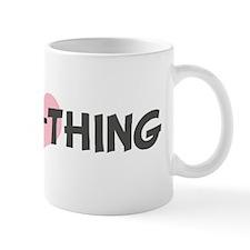 SWEET-THING (pink heart) Mug