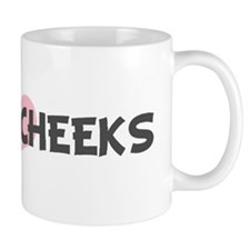 SWEET-CHEEKS (pink heart) Mug