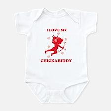 CHICKABIDDY (cherub) Infant Bodysuit