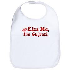 Kiss Me, I'm Gujrati. Bib