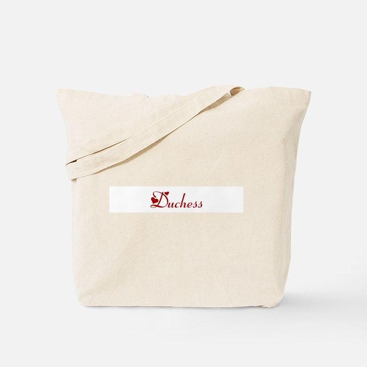 Duchess (hearts) Tote Bag