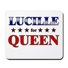 LUCILLE for queen Mousepad