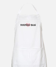 DOODLE-BUG (pink heart) BBQ Apron