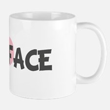 DOLL-FACE (pink heart) Mug