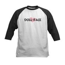 DOLL-FACE (pink heart) Tee