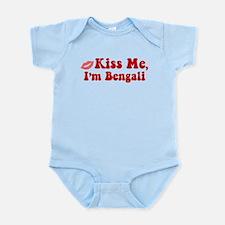 Kiss Me, I'm Bengali. Infant Bodysuit