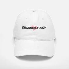 SHABOOKADOOK (pink heart) Baseball Baseball Cap