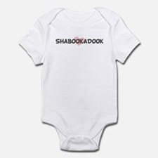 SHABOOKADOOK (pink heart) Infant Bodysuit