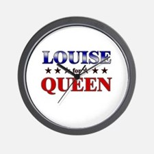 LOUISE for queen Wall Clock