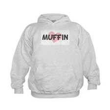 MUFFIN (pink heart) Hoodie