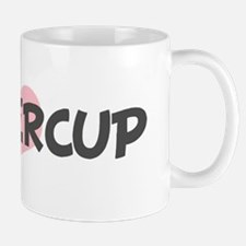 BUTTERCUP (pink heart) Mug