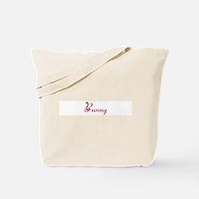 Bunny (hearts) Tote Bag