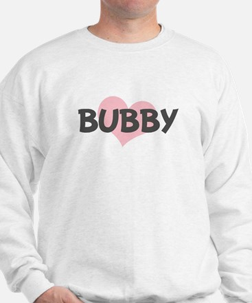 BUBBY (pink heart) Sweatshirt