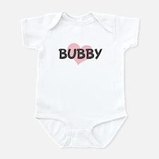 BUBBY (pink heart) Infant Bodysuit