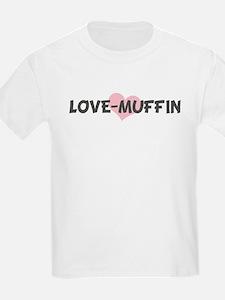 LOVE-MUFFIN (pink heart) T-Shirt