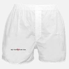 BIG-DADDY-YUM-YUM (pink heart Boxer Shorts