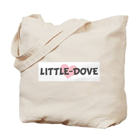 LITTLE-DOVE (pink heart) Tote Bag