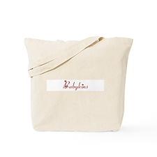 Babykins (hearts) Tote Bag
