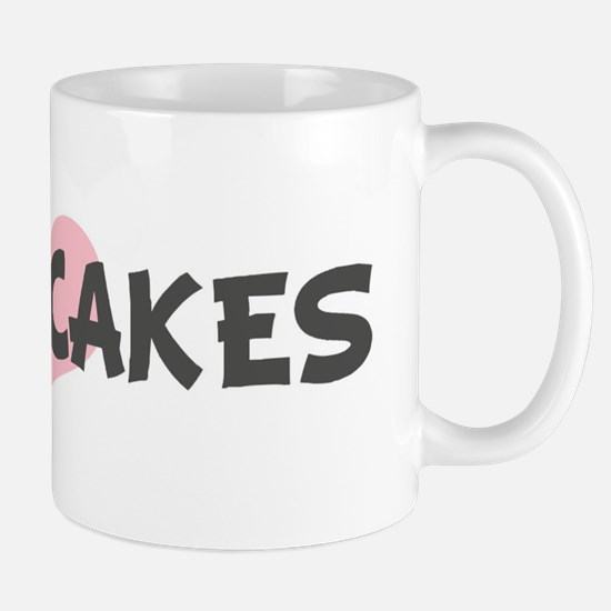 BABY-CAKES (pink heart) Mug