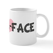 ANGEL-FACE (pink heart) Mug