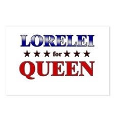 LORELEI for queen Postcards (Package of 8)