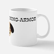 KNIGHT-IN-SHINING-ARMOR (dog) Mug