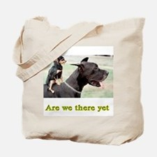 Are We There Tote Bag