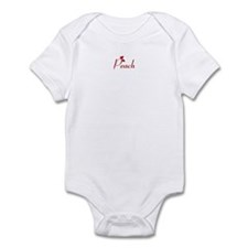 Peach (hearts) Infant Bodysuit