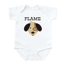 FLAME (dog) Infant Bodysuit