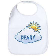 deary (clouds) Bib