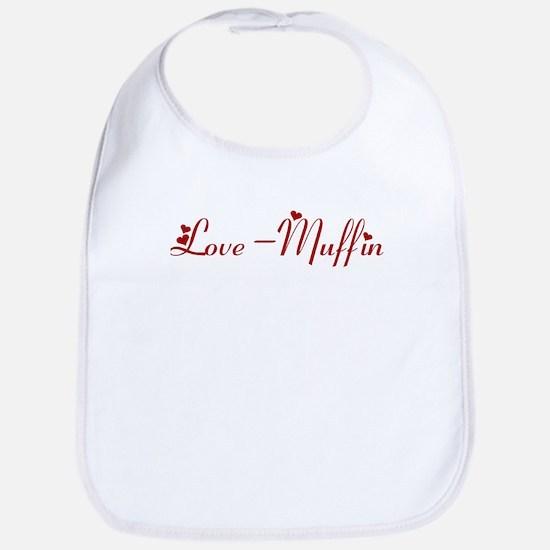 Love-Muffin (hearts) Bib