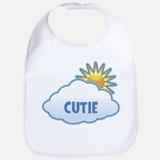 cutie (clouds) Bib