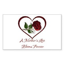 A Mother's Love Rectangle Decal