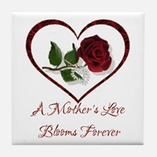 A Mother's Love Tile Coaster