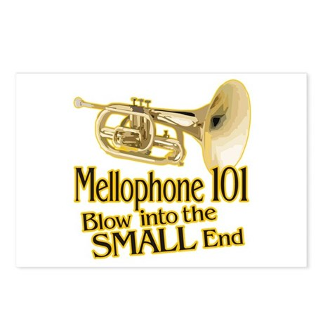 Mellophone 101 Postcards (Package of 8)